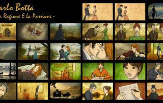Carlo Botta La Ragione E La Passione – Animated inserts for the Documentary. Directed by Marco Mion © Liceo Carlo Botta