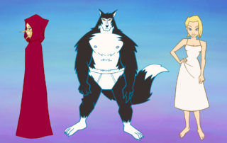 I Conflitti dell'Essere - Videoclip, Characters Comparison © Super Punch / Avvolte