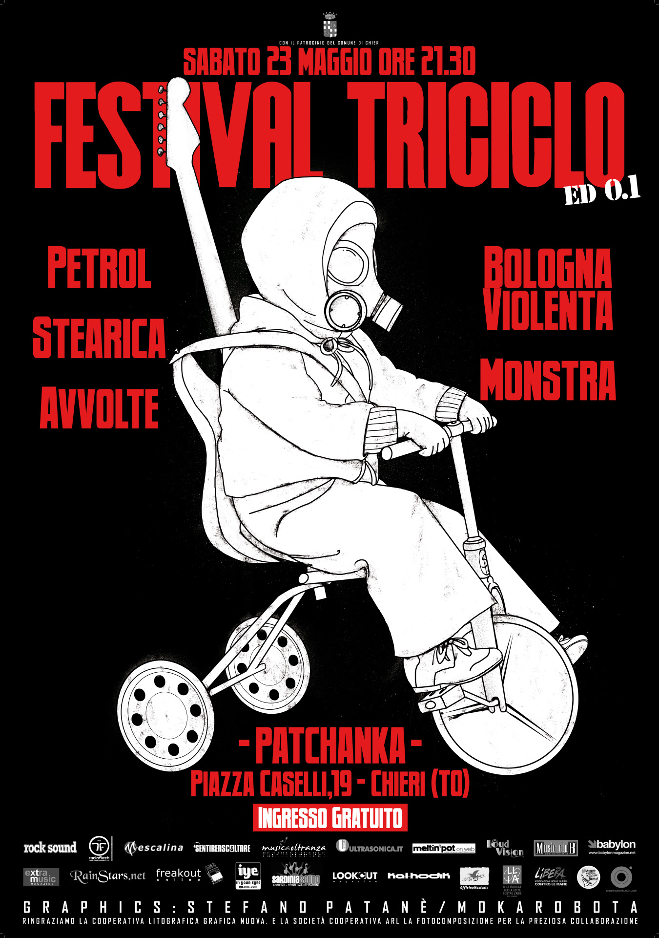 Festival Triciclo – Poster