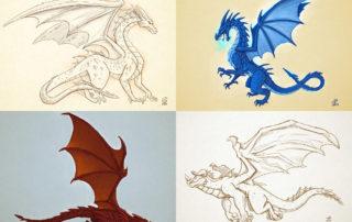 Dragons - Study © Stefano Patanè