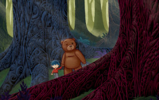 In the Forest - Illustration © Stefano Patanè