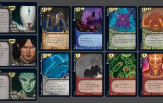 Warage Card Game, Cards © District Games