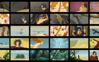 La voglia di stare con te - Videoclip, scenes from the animation © IED / Lele Battista