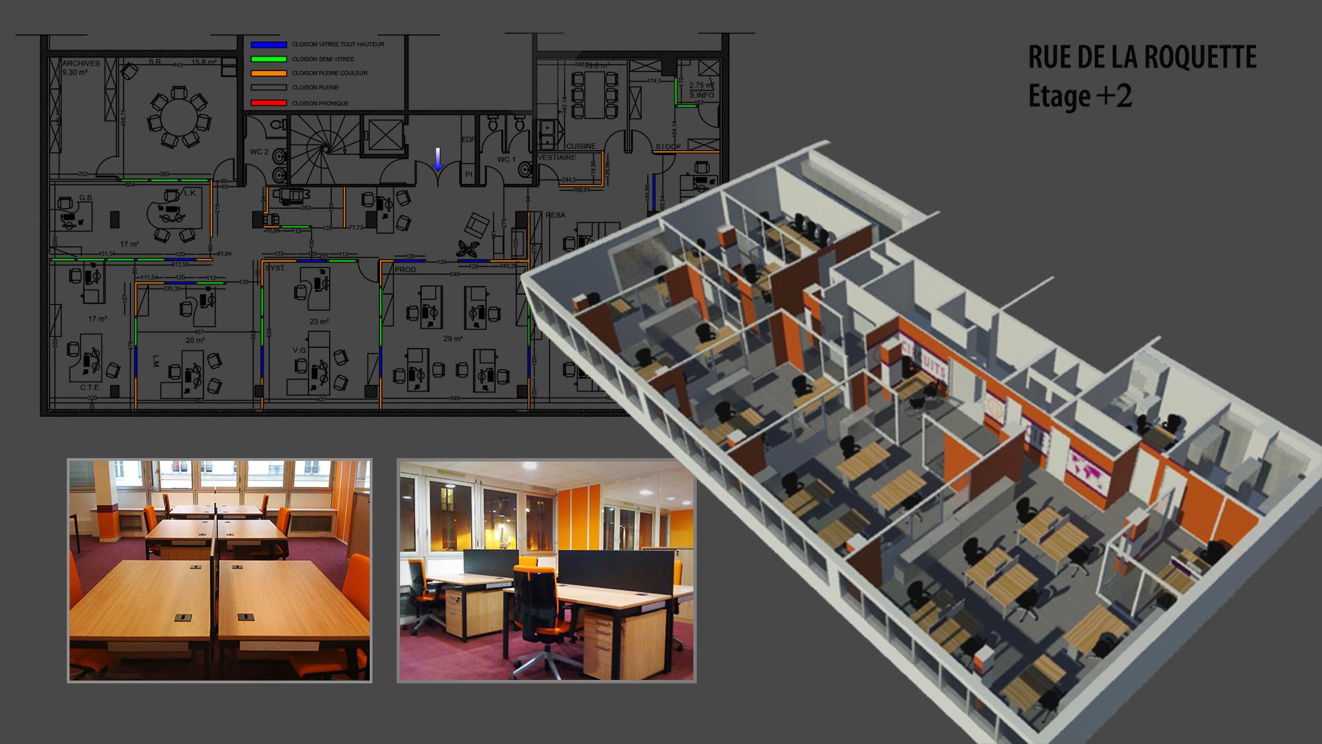 Interior Design, offices Circuit e Compagnie, Paris